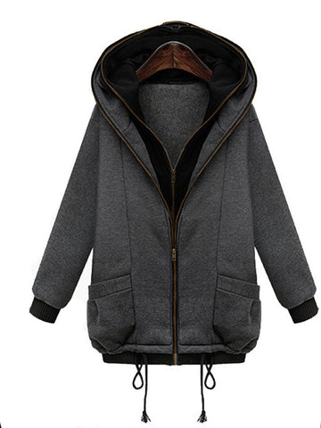 You're Getting Warmer Hooded Winter Coat - FIREVOGUE