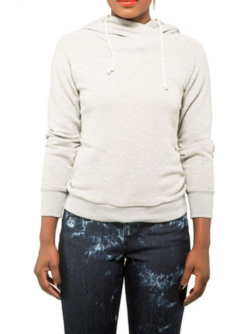 Bye and Bye Back Lace-up Sweatshirt