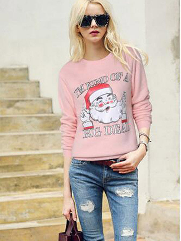 Christmas Kuso Warm Sweatshirt - FIREVOGUE