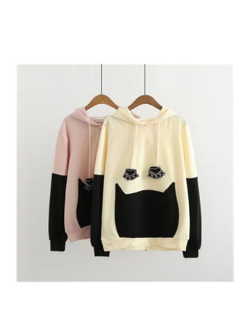 Love Like This Cat Paw Hooded Sweatshirt