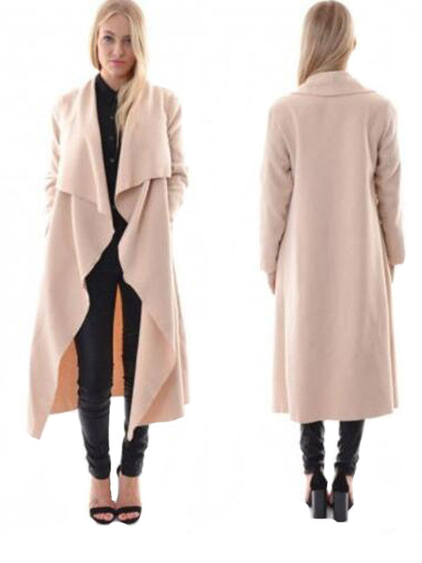 Drape Wind Coat - FIREVOGUE