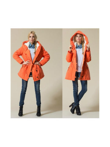 Beautiful Ones Plus Size Hooded Outerwear