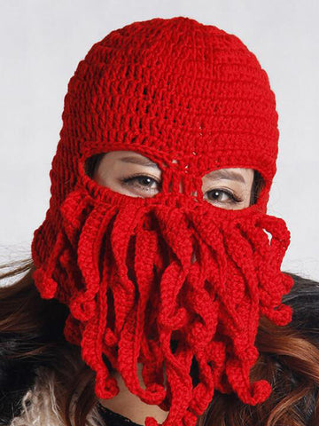 Octopus Ideas Knit Beanie - FIREVOGUE