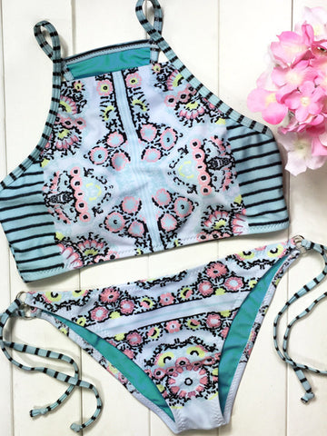 Lost in Love Floral Bikini Sets - FIREVOGUE