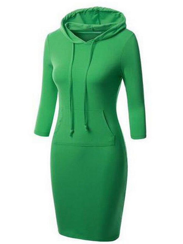 All In Your Hooded Dress - FIREVOGUE