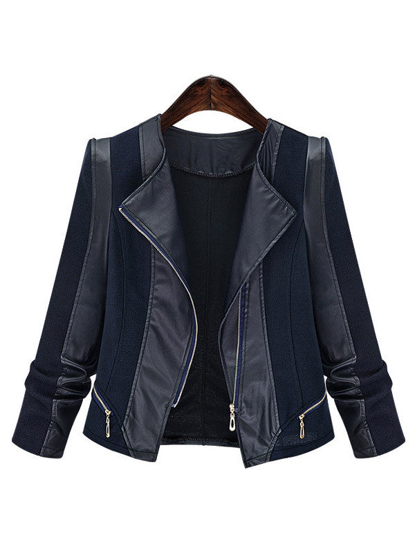 Greatest Of All Time PU Leather Jacket - FIREVOGUE