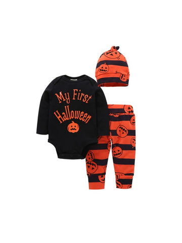 My First Halloween Baby's Pumpkin Printing Sets