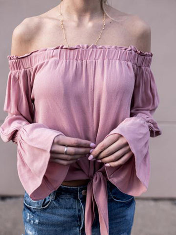 Love Me Off-the-shoulder Top