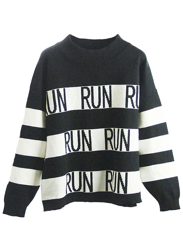 Just Wanna Run Casual Sweater