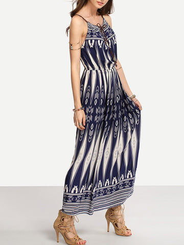 Sway With Wind Maxi Dress