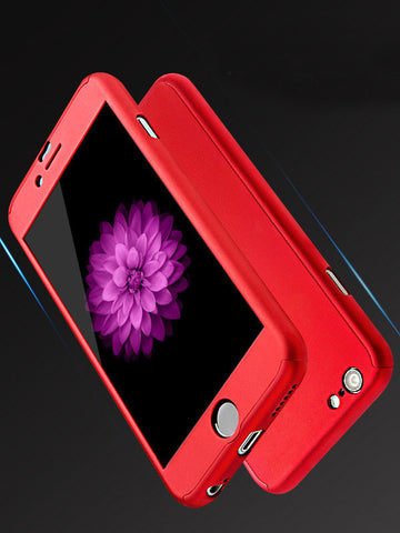 Solid Color iPhone Protective Phone Case