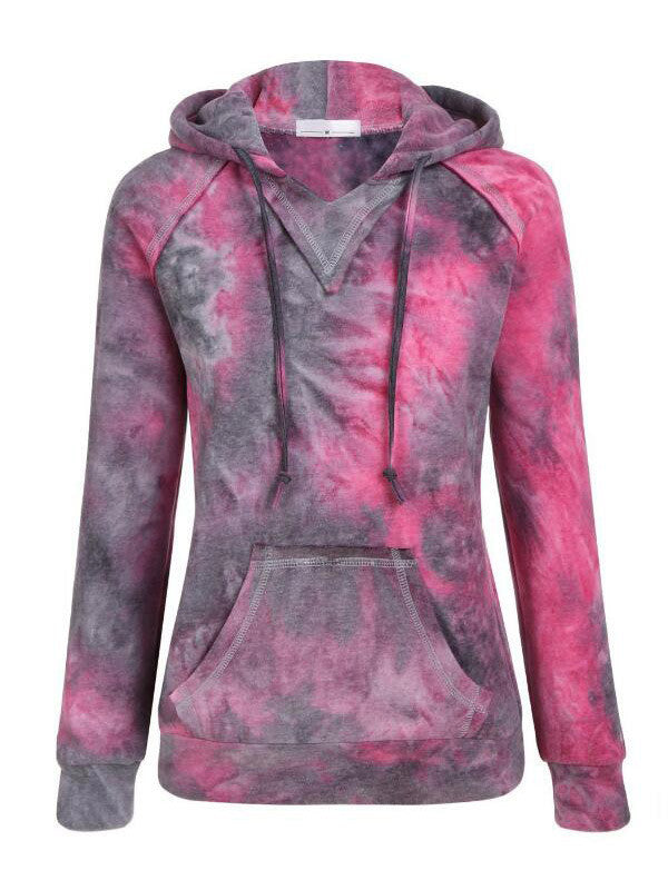 Starry Sky Gradient Hooded Sweatshirt - FIREVOGUE