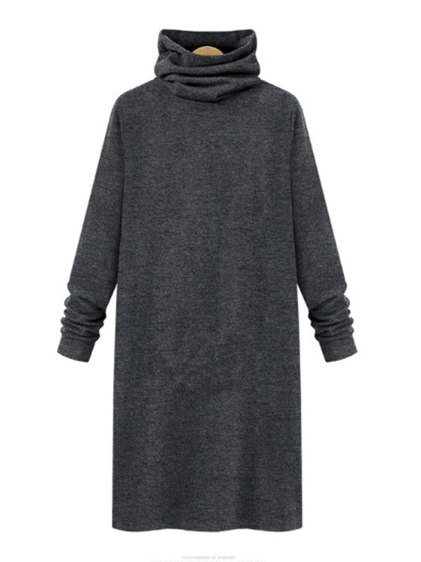 Heaps Collar Tee Dress - FIREVOGUE