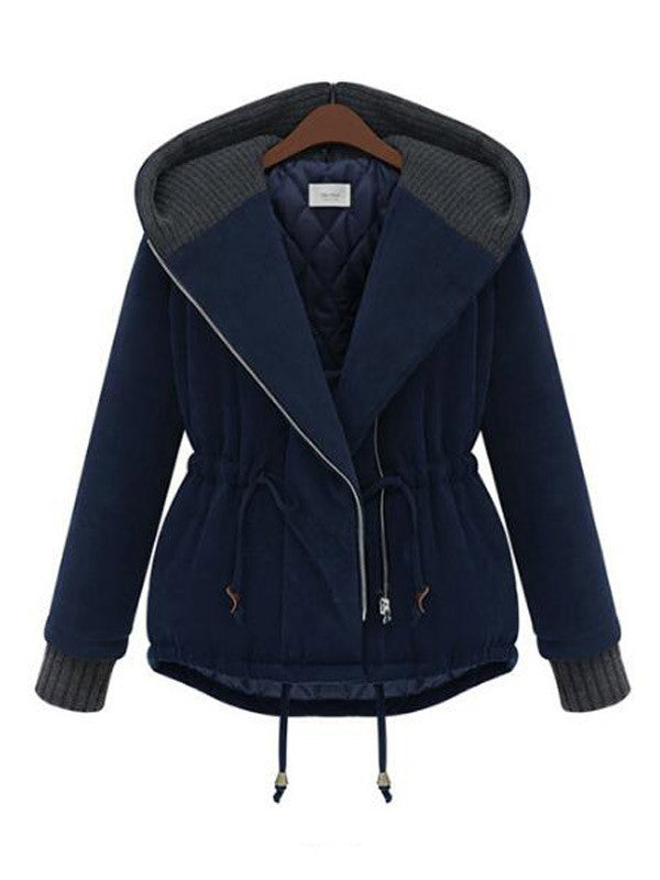 Warming Trend Hooded Cotton Coat