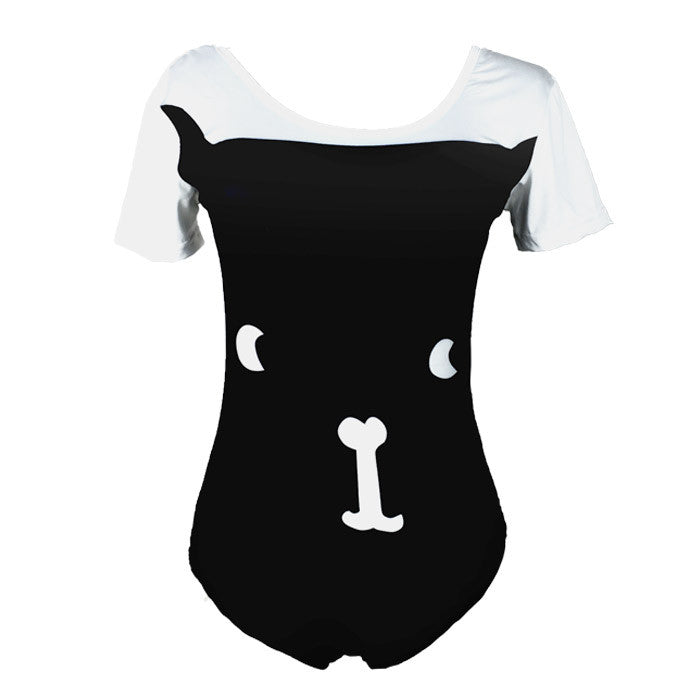 Kittie Print One-piece Swimsuit