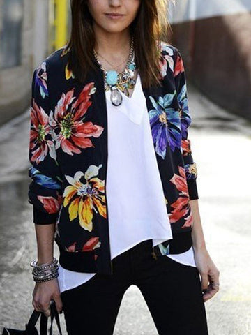 Like It's Your Job Floral Jacket