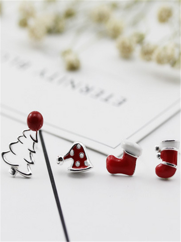 Christmas Needed Red Christmas Earrings