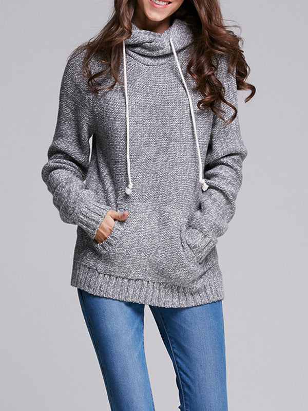 Knit It Better Sweater Hoodie - FIREVOGUE