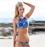Denim Blue Bikini Sets - FIREVOGUE