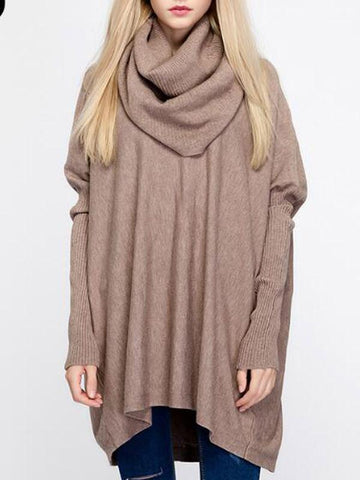 Neck and Neck Loose Sweater - WealFeel