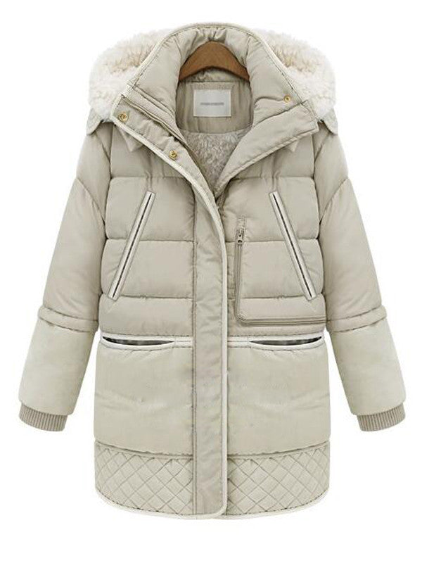 Winter Coat Hooded Parka