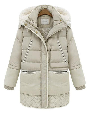 Winter Coat Hooded Parka - FIREVOGUE