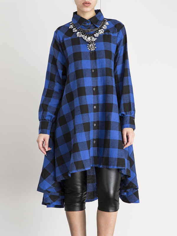 Plaid About It Shirt Dress