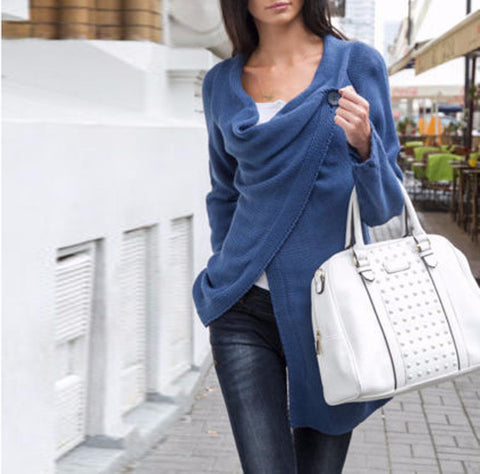 Casual Style Asymmetric Top - FIREVOGUE