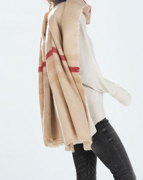 Take Me Warm Woolen Scarf - FIREVOGUE