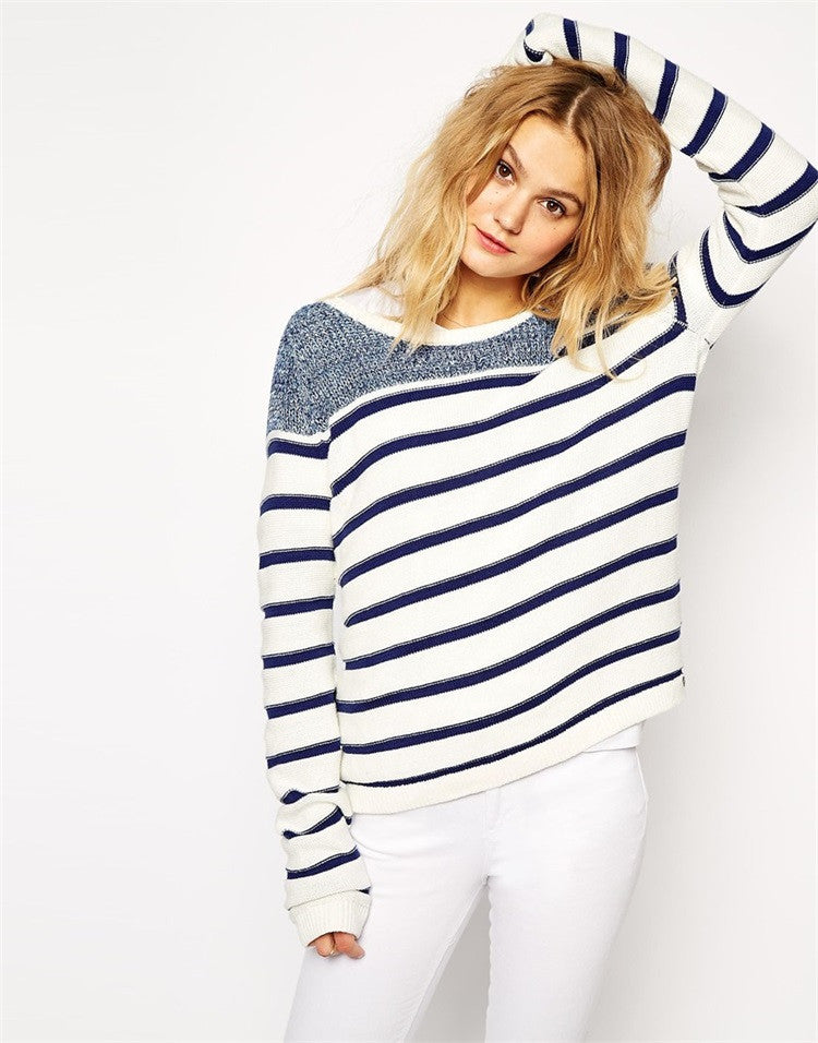 Navy Stylish Sweater