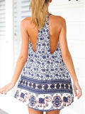 Rock the Summer Elephants printed Mini Dress