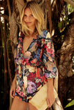 Dance to Dawn Floral Romper - FIREVOGUE
