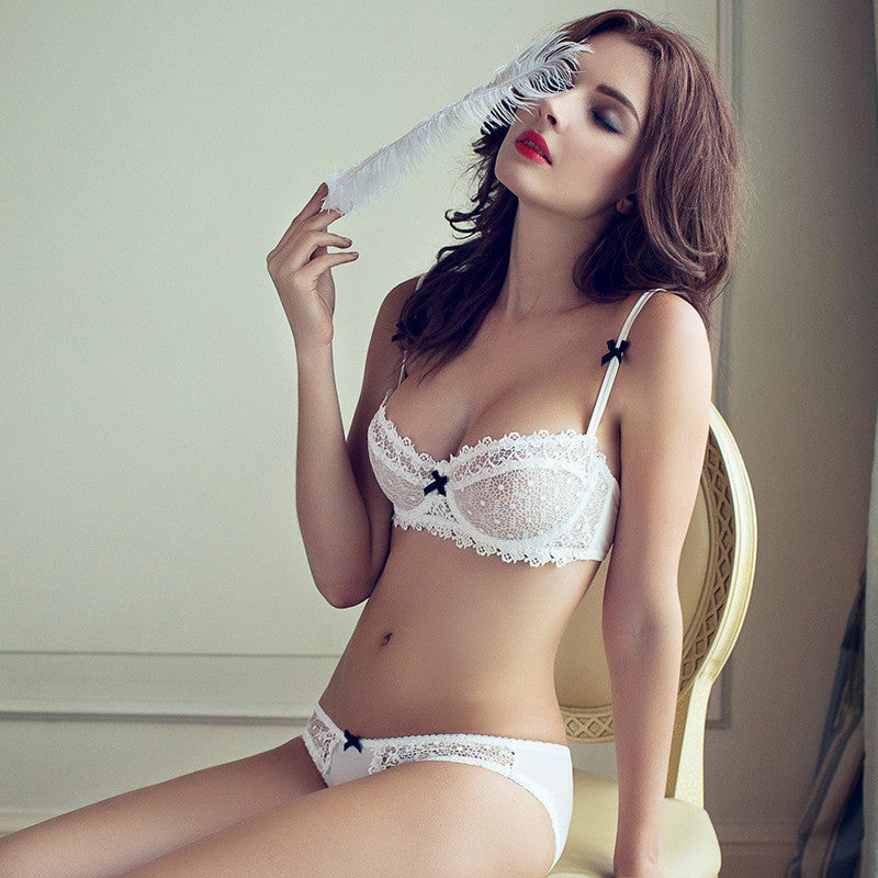 Sexy Lingerie White Lace Underwear - FIREVOGUE