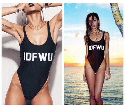 What's Fine is Yours One-piece Swimsuit - FIREVOGUE