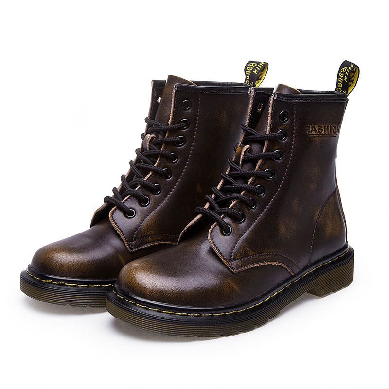 Can't Beat It 'Martin Leather Boot - FIREVOGUE