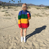 Kiss the Sky Rainbow Sweater - FIREVOGUE