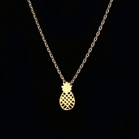 Pineapple Necklace - FIREVOGUE