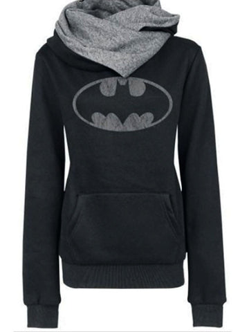 Relaxed Batman Hoodie - FIREVOGUE
