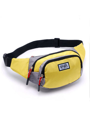 Casual Multi Waist Bag Travel Pocket