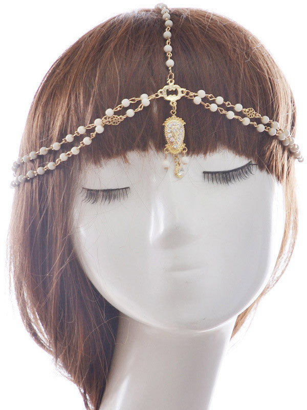 Flower Shape Pearl Hair Accessories