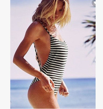 Just My Stripe One-piece Swimsuit - FIREVOGUE
