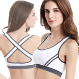 Multi-colored Sports Bra Fitness Underwear - FIREVOGUE