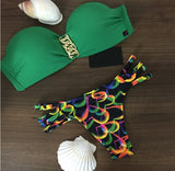 Date With The Green Swimsuit - FIREVOGUE