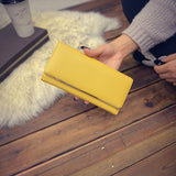 Candy Color Long Wallet - FIREVOGUE
