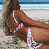 Young Hearts Floral Bikini Set - FIREVOGUE