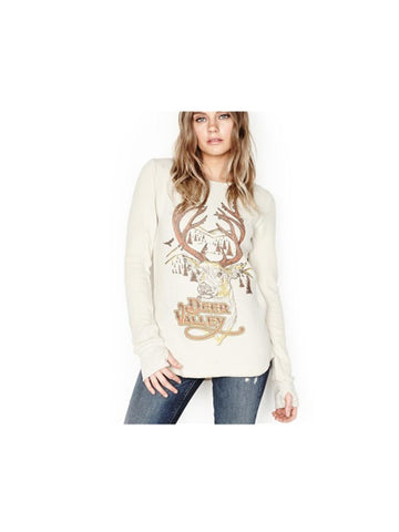 Deer Valley Casual Pullover Sweatshirt
