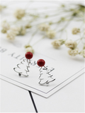 Christmas Needed Red Christmas Earrings - FIREVOGUE