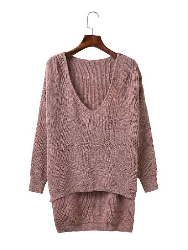 Simple as This Knit Sweater - FIREVOGUE