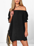 Still Love You Off-the-Shoulder Dress - FIREVOGUE