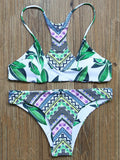 Fabulous Pattern Reversible Bikini Sets - FIREVOGUE